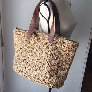 Handbags - Limited Edition Straw Weaved Bag